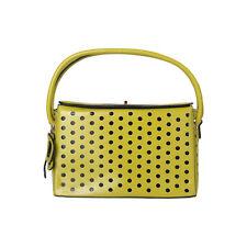 Damentasche Pierre Cardin Schultertasche Umhängetasche Cut-Out-Kreis-Design Grün