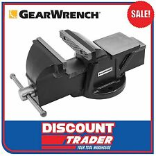 GearWrench Engineers Bench Vice 150mm 2.5T Clamp Force - 9082
