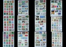 World Stamp Collection British Colonies & United States, All Different,