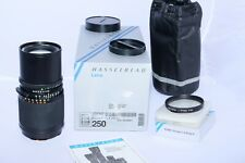 Hasselblad Zeiss Sonnar-CF 250mm f/5.6 lens BOXED w/Proxar 1m. Hasselblad 500CM