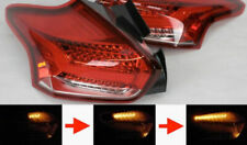 Mk3 Ford Focus Rear LED Red Clear Tail Lights Sequential Indicators