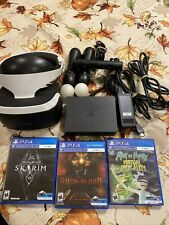 Sony PlayStation VR - Comes With Skyrim,rush Of Blood , Rick And Morty