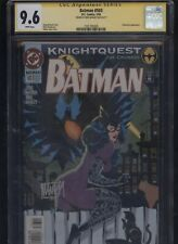 Batman #503 CGC 9.6 SS Mike Manley CATWOMAN 1994 Knightquest The Crusade