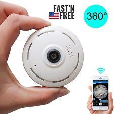 360 degree Mini Smart WIFI Panoramic IP Camera Wireless Home Security 1080P HD