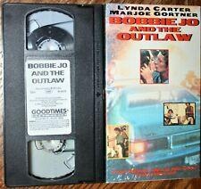 RARE BOBBIE JO AND THE OUTLAW VHS Video Movie Lynda Carter, Marjoe Gortner