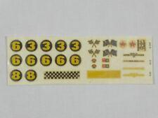 Fleischmann Auto Rallye Decal-Bogen Lotus 40 Nr.3210 NEU! (SO4714)