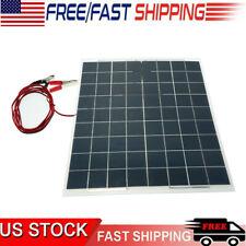 Wholesale Lot 60W 12V Semi Flexible Solar Panel Device Battery Charger Equipment