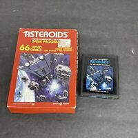 Vintage 1981 Atari 2600 Asteroids CX2649 Game in Box Untested Game