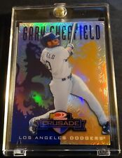 1998 GARY SHEFFIELD DONRUSS CRUSADE PURPLE #152 BANKRUPTCY PROTOTYPE ONE MADE