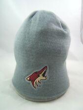 Arizona Coyotes NHL Hockey Coors Light Winter Hat Gray Toque Beanie Stocking Cap