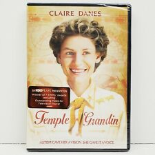 Temple Grandin Starring Claire Danes DVD Movie HBO Films New Sealed