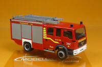 Herpa 094276 MAN TGM LF 20 Feuerwehr Liebenburg / Goslar Scale 1 87