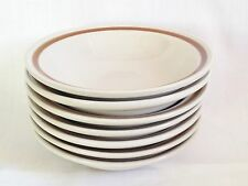 Mountain Wood Dried Flowers Cereal Bowls x 7