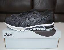 ASICS Men's GEL-Quantum 360 Knit Black/ Gray Running Shoes T8G3N $180