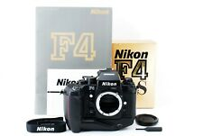 [Almost UNUSED] NIKON F4s SLR Film Camera w/ original catalog From Japan 1264