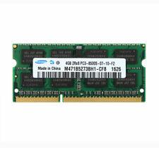 Samsung 4GB DDR3 2RX8 1066MHz PC3-8500S CL7 204pin SODIM Laptop Memory RAM