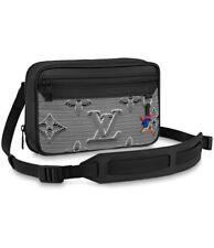 Louis Vuitton Expandable Messenger Monogram 3d Gray Black Bag New With Box