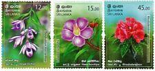 SRI LANKA/2019, FLORA (FLOWERS), MNH