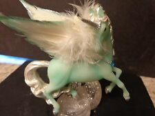 Hamilton Collection Wings of grace Unicorn Enchantment Collection Aquamarine