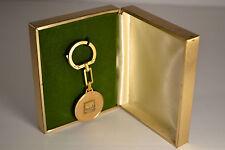 Vintage Coke Coca Cola Key Chain NY New York NOS Box Gold Color Beauty