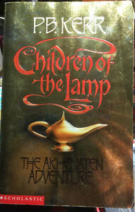 Children Of The Lamp The Akhenaten Adventure P.b. Kerr