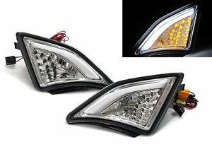 BRZ ZN6 2012-Present LED CORNER LIGHT SIDE INDICATOR Repeater CHROME for SUBARU