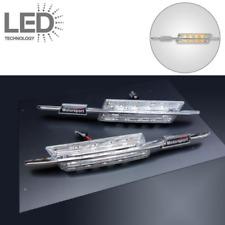 2 CLIGNOTANTS RÉPÉTITEUR LED CHROME BMW E60 E61 E81 E82 E83 E87 E88 E90 E91 E92