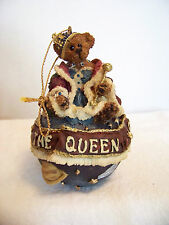 Boyds Bearstones - Regina D. Ferrisdaval.I Am the Queen - w/box - #25709