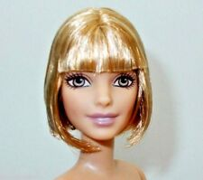 """2016 Barbie NUDE Fashionistas """"Love That Lace"""" PETITE Doll #23 Short Blonde Hair"""