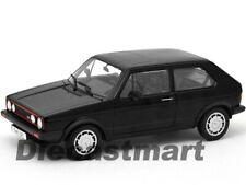 WELLY 18039 1983 VW VOLKSWAGEN GOLF 1 GTI 1:18 DIECAST MODEL CAR BLACK