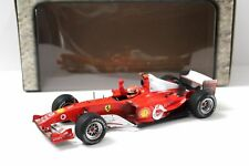 Hot Wheels 1/18 Scale Diecast - B6222 Ferrari Michael Schumacher Sakhir Bahrain