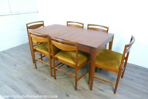 Younger Fonseca Extending Teak Dining Table & 8 Mcintosh 9433 Chairs