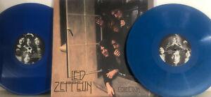 LED ZEPPELIN COLLECTION 2 LP LTD MCV MULTICOLOR VINYL RARITIES IN GATEFOLD COVER