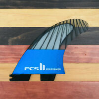 FCS II Performer Surfboard Fin Set PC Carbon Small, Med, Large, or XL- Brand New