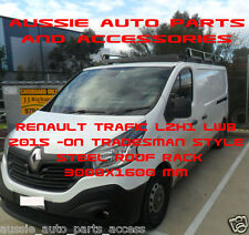 821ab1bcad Tradesman Style Alloy Roof Rack 3000mm 4 RENAULT TRAFIC LWB 2015-ON With  Rollers