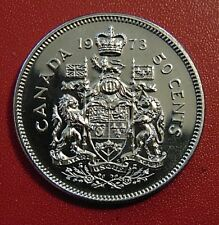 1973 CANADA half dollar fifty 50 cents cent piece PL Proof Like