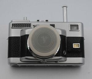 "Voigtlander ""Vitessa T"" Camera W/ New Genuine Leather Cover & Lens Cap"