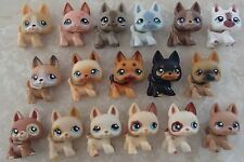 Littlest Pet Shop 17 RARE German Shepherds Dogs HUGE LOT 544 1191 689 1640 No 92