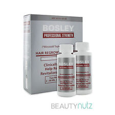 Bosley Hair Regrowth Treatment Minoxidil Solution 2% for Women (2 - 2oz Bottles)