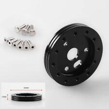 "6 Hole to 3 NEW 0.5"" 1"" Hub Black 1""/25mm Steering Wheel Adapter Plate"