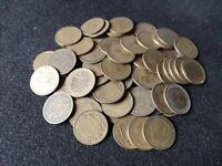 Lote 10 monedas de 1 peseta de 1963 XF+ a F
