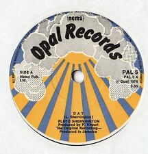 "Pluto Shervington - DAT 7"" Single 1976"