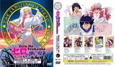 ZERO NO TSUKAIMA Box Set   S1+S2+S3+S4+OVA+MV   01-51   6 DVDs (M1543)
