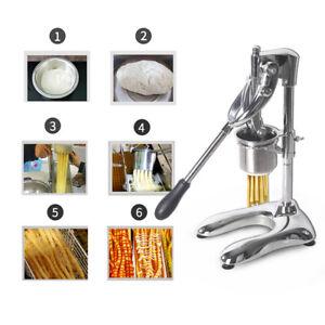 Handbuch Pommes Frites Squeezer 30cm Pommes Frites Presse Maschine Chips Maker