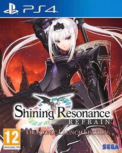 Shining Resonance Refrain Draconic Launch Edition PS4 PLAYSTATION 4 Atlus