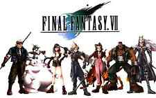 Final Fantasy 7 Classic - Characters- Huge Poster - 22 in x34 in - Fast Shipping