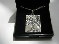 Wholesale 10 Silver Plated Necklaces with Tree of Life Pendants & gift box