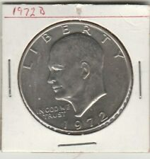 1972  D     EiSENHOWER  Dollar Coin  US Mint One dollar coin