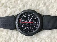 Samsung Gear S3 Frontier SmartWatch SM-R760NDAAXAR Bluetooth Wi-Fi Dark Gray