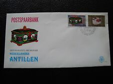 ANTILLES NEERLANDAISES - enveloppe 2/4/1980 (cy91) (Z)